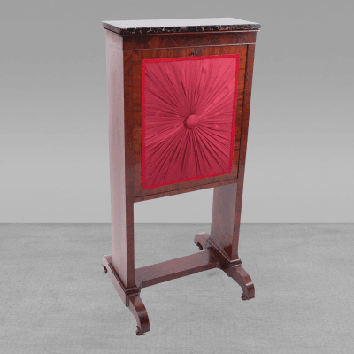 Duncan Phyfe Plain Style Mahogany Ladys Writing Fire Screen