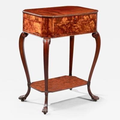 Duncan Phyfe Rare Federal Octagonal Work Table Attributed to Duncan Phyfe