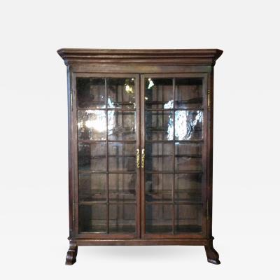 Dutch 18th century Baroque Vitrine or Bookcase