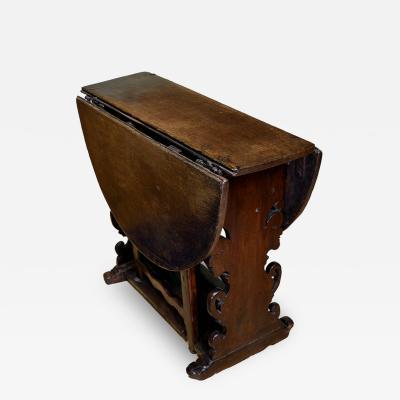 Dutch Baroque Gate Leg Table
