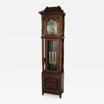 Dutch Chinoiserie Tallcase Clock