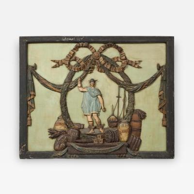 Dutch Folk Art Trade Sign