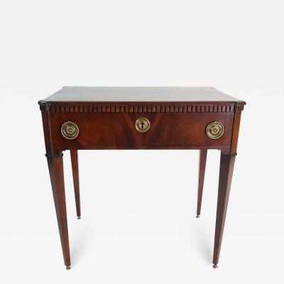 Dutch Mahogany Side Table