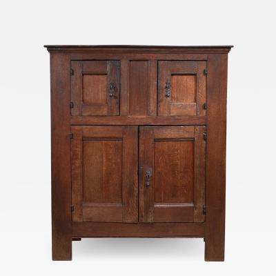 Dutch Renaissance oak cabinet