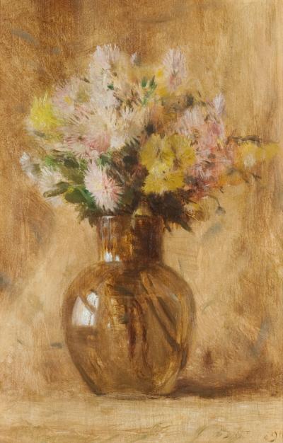 Dwight William Tryon Chrysanthemums 1890