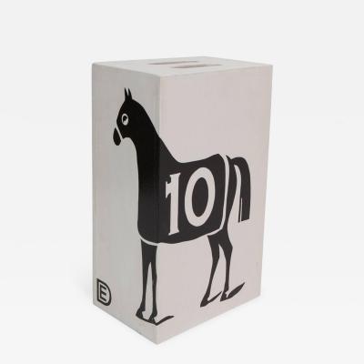 Dylan Egon Dylan Egon Black 10 Horse Table Stool