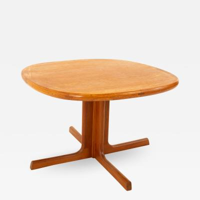 Dyrlund Mid Century Teak Small Round Coffee Table