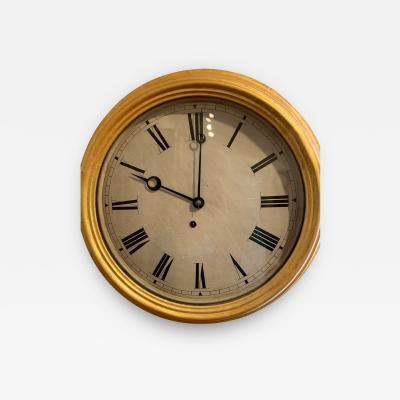 E Ingraham Co Gallery Clock
