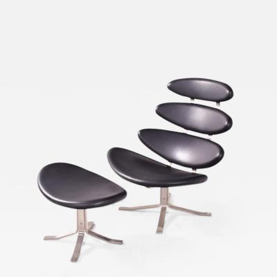 EJ 5 Corona Chair by Poul Volthers for Erik Jorgensen