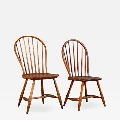 ENGLISH SPINDLEBACK SIDE CHAIRS