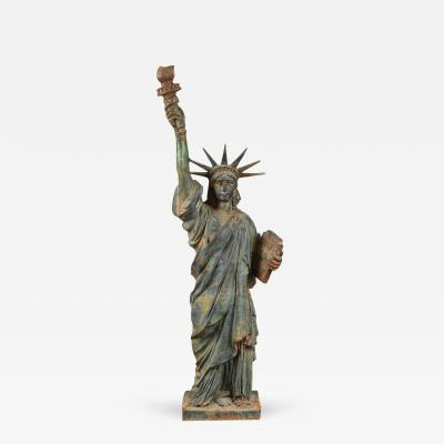 EXCEPTIONAL CASTING OF STATUE OF LIBERTY