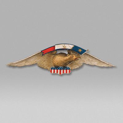 Eagle Plaque c 1915