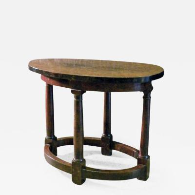 Early 17th Century Italian Oval Center Table