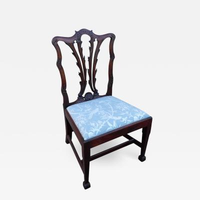 Early 18th Century Irish Mahogany Side Chair