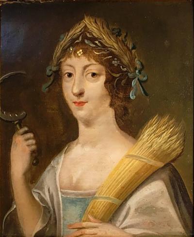 Early 18th Century Italian Portrait of Demeter