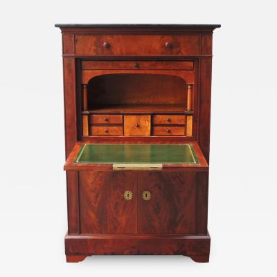 Early 19th C American Fall Front Secretary