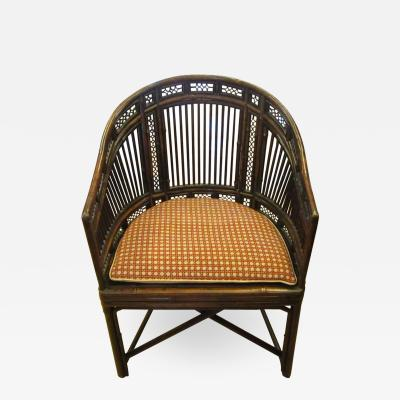 Early 19th Century Brighton Pavilion Style Bamboo Armchair