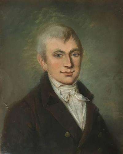 Early 19th Century Empire Period Portrait of a Gentleman