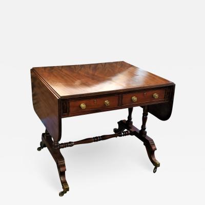 Early 19th Century English Regency Sofa Table