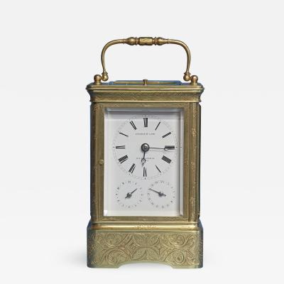 Early 19th Century Giant Petit Sonnerie Carriage Clock