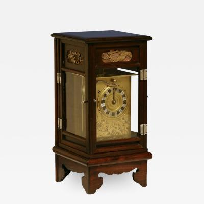 Early 19th Century Japanese Striking Lantern Clock