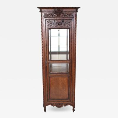 Early 19th Century Mirrored Interior French Display Cabinet