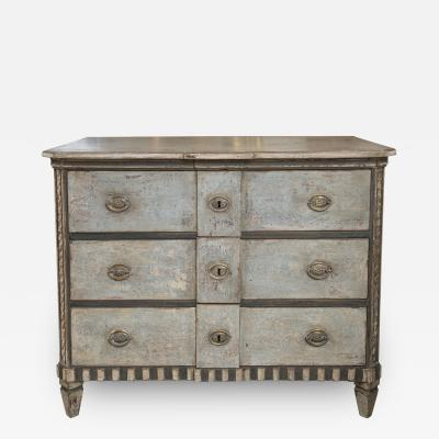 Early 19th Century Neoclassical Painted Chest of Drawers