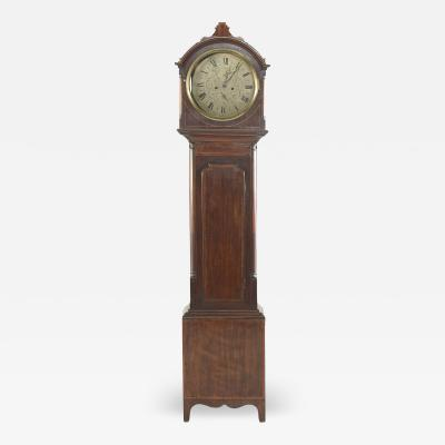 Early 19th Century Scottish Drumhead Tall Case Clock
