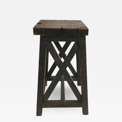 Early 19th Century Wood Pedestal