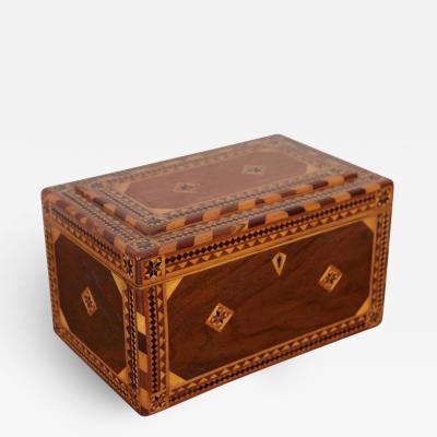 Early 20th C American Inlaid Box