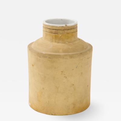Early 20th C American Interior Glazed Storage Vessel
