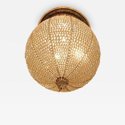 Early 20th C New York Art Deco Style Sphere Light Fixture