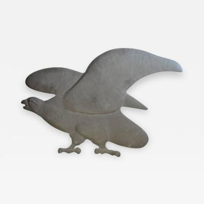 Early 20th Century American Cast Iron Eagle