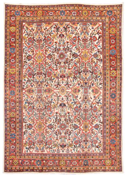 Early 20th Century Antique Mahal Wool Rug 9 X 12