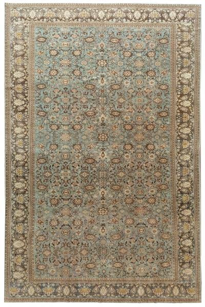 Early 20th Century Antique Malayer Oversize Wool Rug 12 x 18