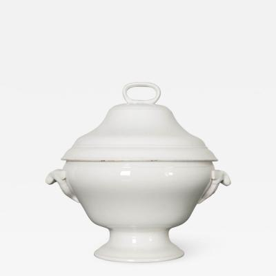 Early 20th Century French Ironstone Tureen