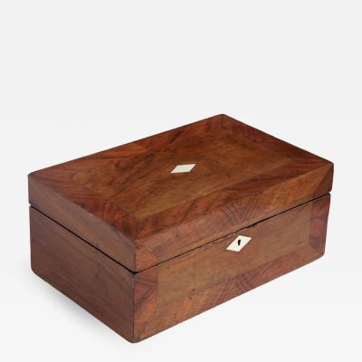 Early 20th Century Mahogany Box