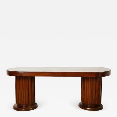Early 20th Century Mahogany Oval Center Table