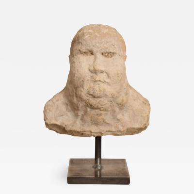 Early 20th Century Plaster Bust