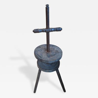 Early Adjustable Candle Stand