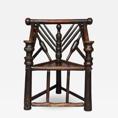 Early English or Scottish Turners Chair