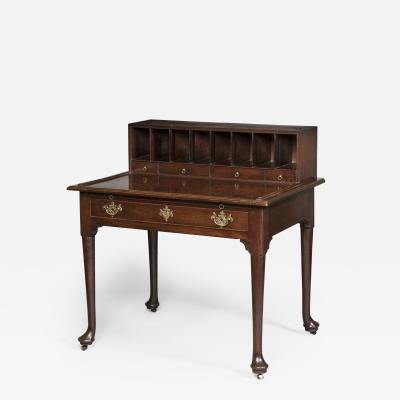 Early Georgian Mahogany Writing Desk Bureau