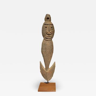 Early Papua New Guinea Figurative Food Suspension Hook
