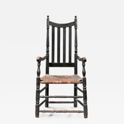 Early Slat Back Armchair