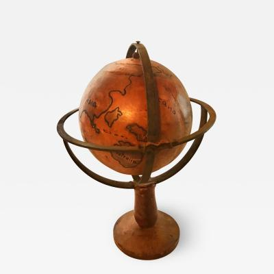 Early Terrestrial Globe on Stand