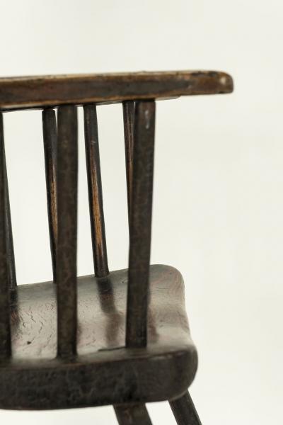 Early Welsh Primitive Windsor Armchair
