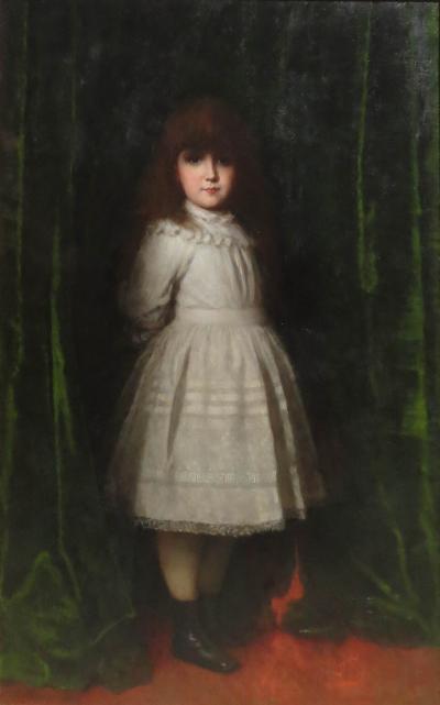 Eastman Johnson Marguerite Daisy Leiter 5yrs