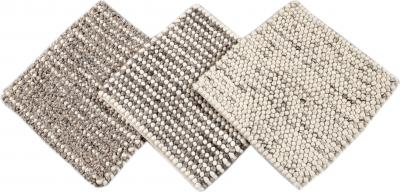 Easton Collection Hand Woven Wool Textured Custom Rug