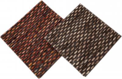 Easton Collection Woven Felt Textured Jaquard Wool Custom Rug