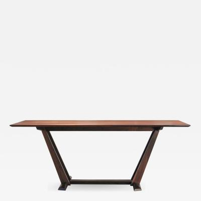 Eben Blaney Leaning Trestle Dining Table